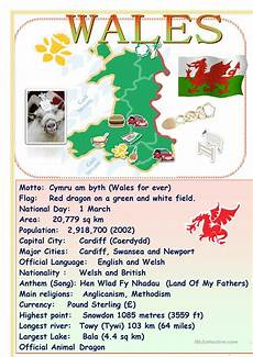speaking countries free worksheets 18626 tell about speaking countries wales worksheet free esl printable worksheets made by