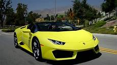 2017 lamborghini hurac 225 n rwd spyder review and road test youtube