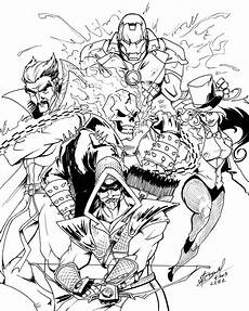 marvel heroes coloring pages get coloring pages