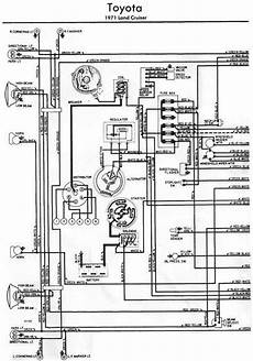 toyota land cruiser 1971 electrical wiring diagram left part all about wiring diagrams