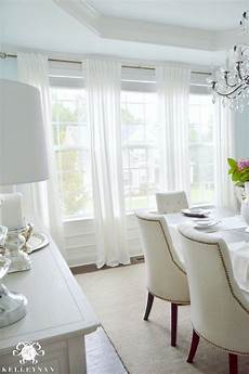 five times to go white in your home dining room curtains