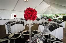black silver red wedding ideas black white red damask