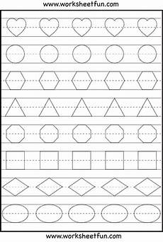 letter shapes worksheets 1173 shape tracing and letters preschool worksheets shapes on best worksheets collection 118