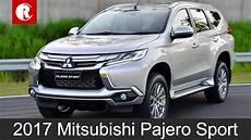 New Mitsubishi Pajero Sport India Bound In Mid 2017