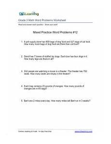 3rd grade math worksheet word problems subtraction grade 3 math word problems worksheet word problems 3rd
