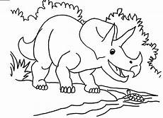 free printable triceratops coloring pages for