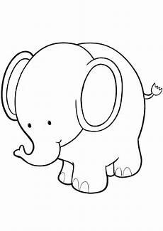 Malvorlage Kleiner Elefant Elefanten Ausmalbilder 26 Ausmalbilder