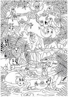 ausmalbilder kunst grundschule pin pia friedrich auf zoo kinder basteln und malen