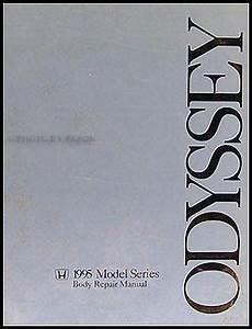 auto repair manual free download 1996 honda odyssey interior lighting 1995 1998 honda odyssey body repair shop manual original