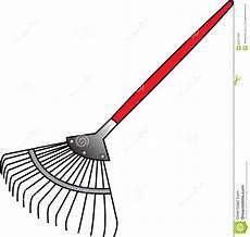 de hark neemt afval op vector illustratie illustratie