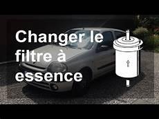 filtre a essence changer le filtre 224 essence carburant renault clio 2