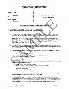 fillable online view sle qdro qdrodesk com fax email print pdffiller