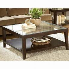Glass Top Coffee Table Square