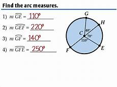 10 2 arcs and chords ms zeilstra s math classes