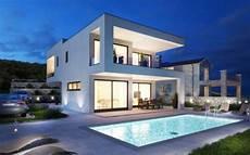 island of krk kvarner modern villa with pool