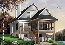 cottage house plan two story cottage house plan
