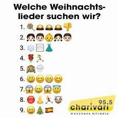 emoji quiz welche weihnachtslieder suchen wir 95 5