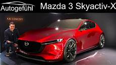 2019 all new mazda 3 preview with skyactiv x diesel petrol