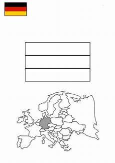 ausmalbilder flagge deutschland kostenlos drucken