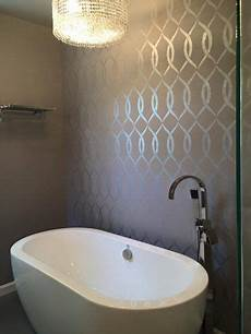 bathroom wall stencil ideas 17 best images about stenciled painted bathrooms on