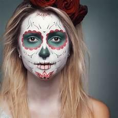 Sugar Skull Makeup Mexican Day Of Dead Makeup