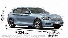 dimension serie 1 dimensions des voitures bmw longueur x largeur x hauteur