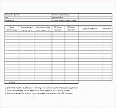 6 excel timesheet template with overtime excel templates