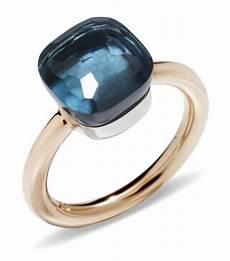 nudo pomellato pomellato nudo blue topaz classic ring harrods