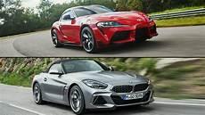 toyota supra 2020 bmw the wheel 2020 toyota supra vs 2020 bmw z4