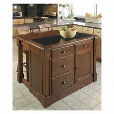 black oval granite tops kitchen island with seating home styles aspen granite top kitchen island with two