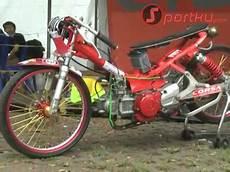 Modifikasi Crypton by Modifikasi Yamaha Crypton Untuk Balap Drag Bike 201 M Speed