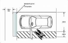 dimension place de stationnement dimensions marquage au sol et adaptation des places de stationnement en angle droit