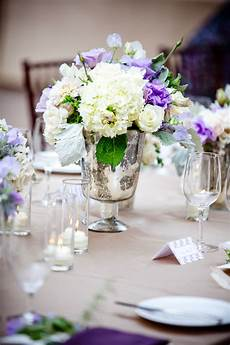 reception floral detail a beautiful ivory white purple