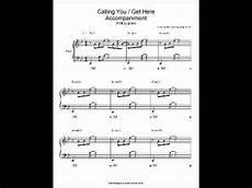 calling you get here patti lupone piano sheet music youtube