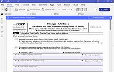 irs form 8822 the best way to fill it wondershare