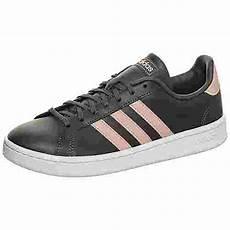 adidas grand court sneaker damen grau pink im