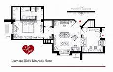Sitcom Apartment Blueprints by I Want To Live There Floorplans From Tv Shows