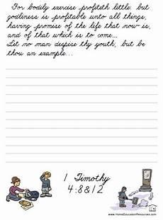 free bible handwriting worksheets 21695 penmanship practice cursive and bible verses on