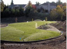 Lawn Sprinkler, Install, Service, Repair, Design