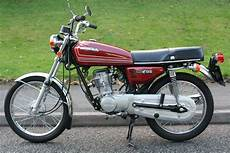 Restored Honda Cg125 1978 Photographs At Classic Bikes
