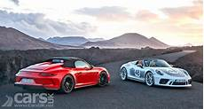 porsche cost new porsche 911 speedster uk price and spec announced