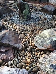 Garden Pebble Mosaic By Graham Fry Garden Garden