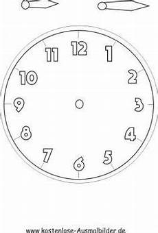 time clock coloring page education
