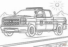 Ausmalbilder Polizei Lkw Car Coloring Pages Sketch Coloring Page