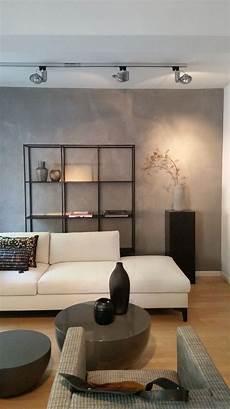 Betonoptik Im Wohnzimmer Die Moderne Beton Cire