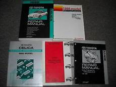 best car repair manuals 1998 toyota celica on board diagnostic system 1998 toyota celica service repair shop manual set oem w trans wiring features ebay
