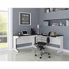 home office furniture white monarch specialties 2 piece white office suite i 7028