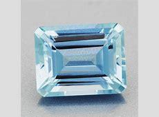 Exquisite 3.25 Carat Azure Blue Emerald Cut Loose