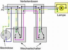 wechselschaltung mit steckdosen anleitung