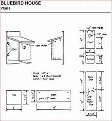 plans for bluebird houses creating bluebird habitat free bluebird house plans